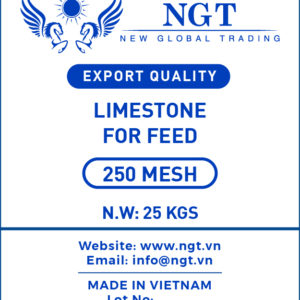 Limestone 250 Mesh for Animal Feed - Poultry & Fish