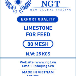 Limestone 80 Mesh Powder for Animal Feed - Poultry & Fish