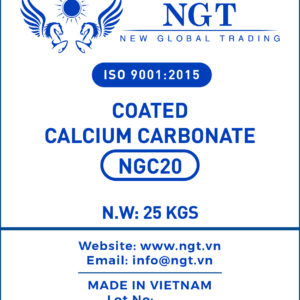 NGT Coated Calcium Carbonate Powder for Plastic & Polymer - NGC20