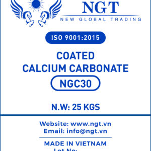NGT Coated Calcium Carbonate Powder for Plastic & Polymer - NGC30
