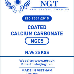 NGT Coated Calcium Carbonate Powder for Plastic & Polymer - NGC5