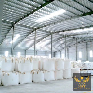 NGT Stock of Vietnam White Calcium Carbonate Powder for Plastic
