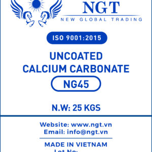 NGT Uncoated Calcium Carbonate Powder for Paint, Paper & Plastic - NG45